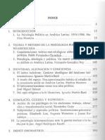 Tabla de libro de Psicologia latinoamericana