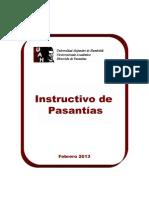 Instructivo Pasantias i y II 2013 Revisado