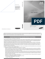 Samsung Led - User Manual