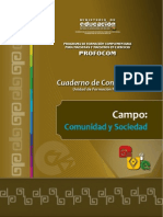 Cuaderno Campo Comunidad Sociedad