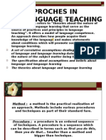 Approaches to Lang Acquisition Ppt