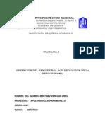 Obtención del benzhidrol por reducción de la benzofenona
