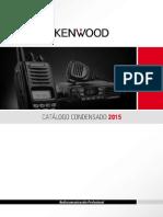 CATALOGO KENWOOD 2015