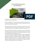 Proyectos de Generación Eléctrica Ecuador