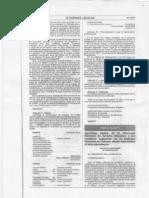 Decreto Supremo N°003-2010-ED