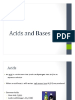 acids and bases powerpoint