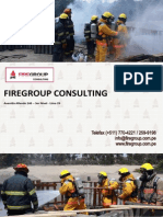 Modelo de Brochure Firegroup 2015