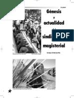 Genesis y Actualidad Del Sindicalismo