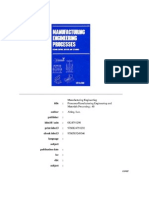 (Manufacturing Engineering and Materials Processing, 40.) Leo Alting _ English Version Edited by Geoffrey Boothroyd.-manufacturing Engineering Processes-Marcel Dekker (1994.) -