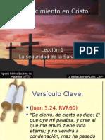 63515906 Leccion 1 La Seguridad de La Salvacion