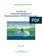 In Suito Bioremediation of Chlorinated Ethene DNAPL