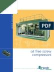 Catalogue Oilfree Screw Compressors