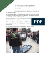 Delincuencia Chiclayo