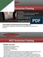 NDT Technician Training