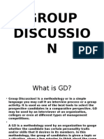 Group Discussin