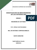 Benchmarking de Los Sistemas ERP