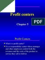 Chepter-5 Profit Centers