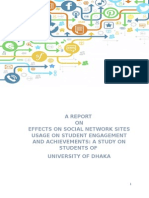 Reaserch on Effect of Social Media on Academic Performance