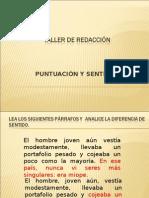 TdR 2011-0-2 Puntuacion y Sentido