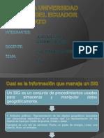 SIG informacion