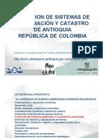 Catastro Areas Conflicto Antioquia