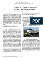 Evaluation of the FWD Moduli of a Flexible Pavement Using Finite Element Model