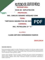 MÉTODOS INDIRECTOS DE EXPLORACIÓN