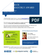 ACM - IEEE CS - ECKERT-MAUCHLY AWARD