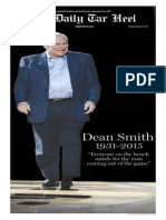 The Daily Tar Heel Dean Smith Commemorative Issue