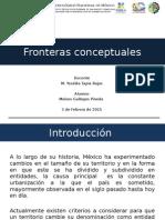 Fronteras conceptuales