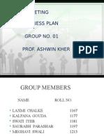 Final Business Plan and Marketing Plan