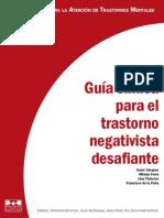 Guia Clinica Trastorno Negativista
