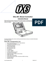 Dtec-BC (Boost Controller) Instruction Manual