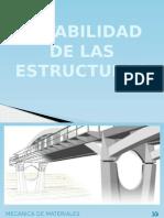 Estabilidad de Las Estructuras