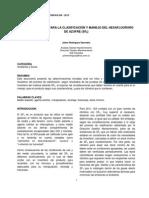 CONSIDERACIONES PARA LA CLASIFICACIÓN Y MANEJO DEL HEXAFLUORURO DE AZUFRE
