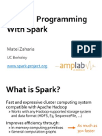 Spark Intro