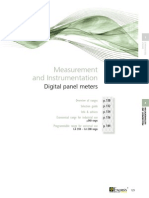 Digital Panel Meters Bd