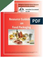 Resource Guidebook on Food Packaging