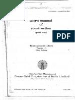 PowerGrid - Transmission Lines - Line Survey