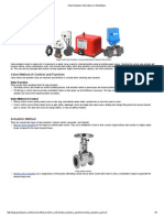 Valve Actuators Information on GlobalSpec