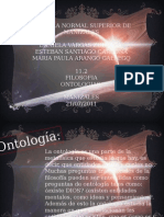 filosofía ontologia