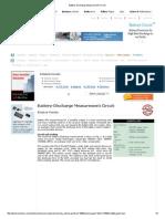 Battery-Discharge Measurement Circuit