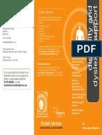 Disability & Dyslexia Information