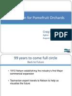 2020 Vision for Pomefruit Orchards Craig Hornblow Thursday 6