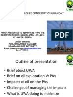 Oil and Wildlife Conservation in Uganda
