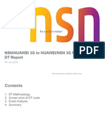 Nsn 3g to Huawe 3g Pscs Ho Dt Report