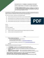 Ficha Inscripción censo y candidaturas a las primarias de la Asamblea Ciudadana Portuense