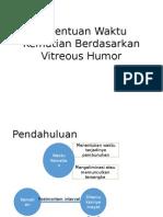penentuan waktu kematian berdasarkan vitreous humour