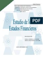 Trabajo Estados Financieros Andreina