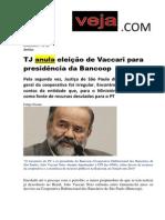 Anulatoria Vaccari Bancoop 2009 Veja